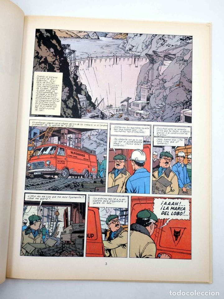 Cómics: LEFRANC 4. LA GUARIDA DEL LOBO (Jacques Martin) Grijalbo, 1986 - Foto 3 - 180019147