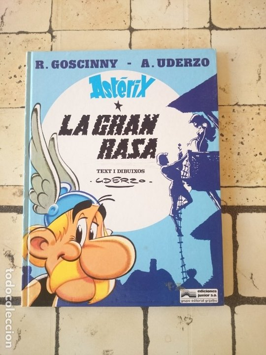 ASTERIX - LA GRAN RASA ( CATALÁN ) GOSCINNY Y UDERZO 1980JUNIOR SA GRUPO EDITORIAL GRIJALDO. 1980 (Tebeos y Comics - Grijalbo - Asterix)