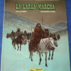 Cómics: LA LARGA MARCHA - UNA AVENTURA DEL TENIENTE BLUEBERRY - GRIJALBO (1981). Lote 180130211