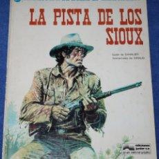 Cómics: LA PISTA DE LOS SIOUX - UNA AVENTURA DEL TENIENTE BLUEBERRY - EDICIONES JUNIOR - GRIJALBO (1978). Lote 180130356