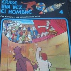 Cómics: ERASE UNA VEZ... EL HOMBRE N° 4 EDIT GRIJALBO AÑO 1979. Lote 180155756