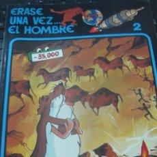 Cómics: ERASE UNA VEZ... EL HOMBRE N° 2 EDIT GRIJALBO AÑO 1979. Lote 180155903