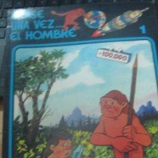 Cómics: ERASE UNA VEZ... EL HOMBRE N° 1 EDIT GRIJALBO AÑO 1979. Lote 180155960