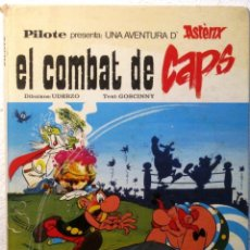 Cómics: ASTERIX EL COMBAT DE CAPS - TAPA DURA - EN CATALAN. Lote 180458685