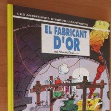 Cómics: ESPIRU I FANTASTIC EL FABRICANT D´OR. Lote 254565140