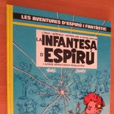 Comics: ESPIRU I FANTASTIC LA INFANTESA D´ESPIRU. Lote 180962616