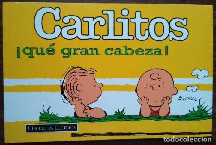 CARLITOS ¡QUÉ GRAN CABEZA! SCHUZ, 1998 GRIJALBO MONDADORI (Tebeos y Comics - Grijalbo - Otros)
