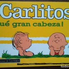 Cómics: CARLITOS ¡QUÉ GRAN CABEZA! SCHUZ, 1998 GRIJALBO MONDADORI. Lote 180974803