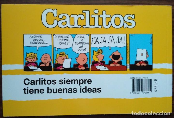 Cómics: CARLITOS ¡QUÉ GRAN CABEZA! SCHUZ, 1998 GRIJALBO MONDADORI - Foto 6 - 180974803