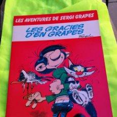 Cómics: LES GRÀCIES D'EN GRAPES.LES AVENTURES DE SERGI GRAPES.DIFÍCIL. Lote 181026383