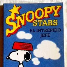 Cómics: SNOOPY STARS, EL INTRÉPIDO JEFE; CHARLES M. SCHULZ - EDICIONES JUNIOR 1991. Lote 181038067