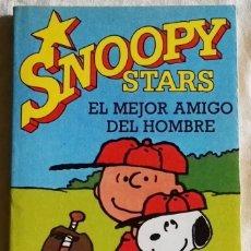 Cómics: SNOOPY STARS, EL MEJOR AMIGO DEL HOMBRE; CHARLES M. SCHULZ - EDICIONES JUNIOR 1991. Lote 181038316