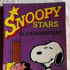 Cómics: SNOOPY STARS, EL CASAMENTERO; CHARLES M. SCHULZ - EDICIONES JUNIOR 1990. Lote 181038963