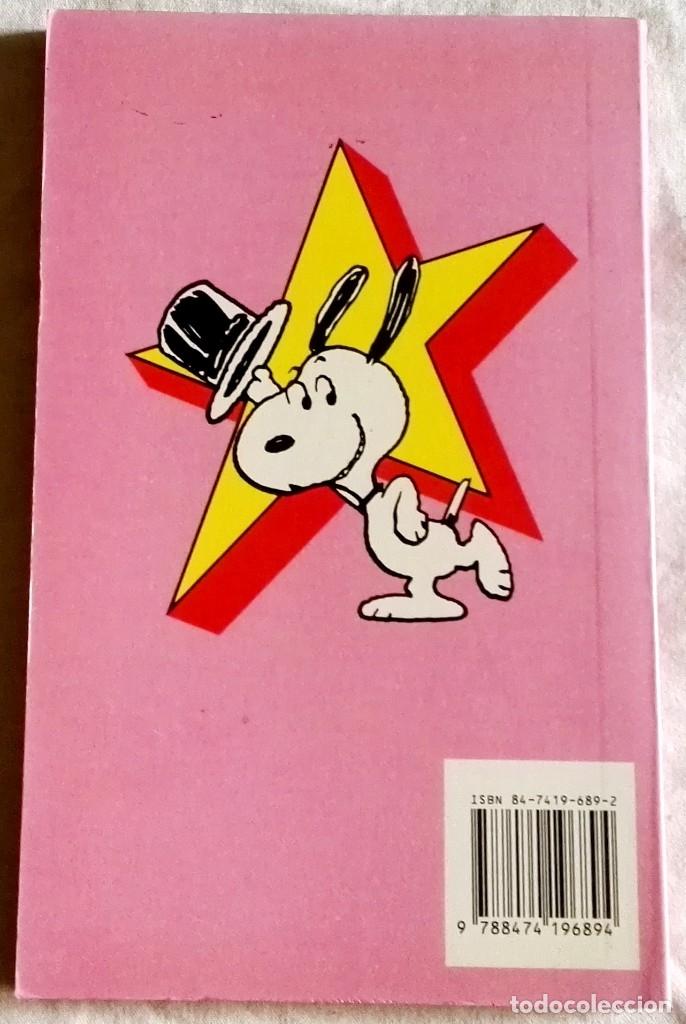 Cómics: Snoopy Stars, El Casamentero; Charles M. Schulz - Ediciones Junior 1990 - Foto 2 - 181038963