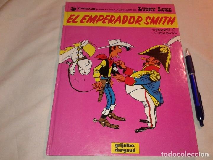 LUCKY LUKE, EL EMPERADOR SMITH, Nº 1, 1982 (Tebeos y Comics - Grijalbo - Lucky Luke)