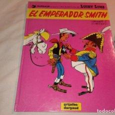 Cómics: LUCKY LUKE, EL EMPERADOR SMITH, Nº 1, 1982. Lote 181094421
