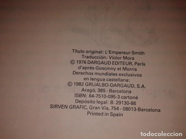 Cómics: LUCKY LUKE, EL EMPERADOR SMITH, Nº 1, 1982 - Foto 2 - 181094421