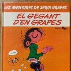 Fumetti: FRANQUIN - LES AVENTURES DE SERGI GRAPES Nº 5 - EL GEGANT D'EN GRAPES (CATALÁN) - GRIJALBO 1983. Lote 181110025