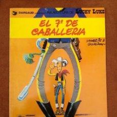 Cómics: LUCKY LUKE EL 7º DE CABALLERIA. Lote 181216271