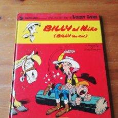 Cómics: LUCKY LUKE. BILLY EL NIÑO. . Lote 181324328