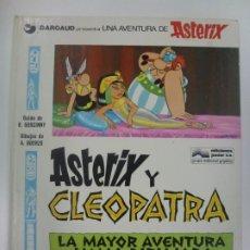 Cómics: UNA AVENTURA DE ASTERIX. ASTERIX Y CLEOPATRA. LA MAYOR AVENTURA JAMÁS DIBUJADA. Nº 1. . Lote 181350057