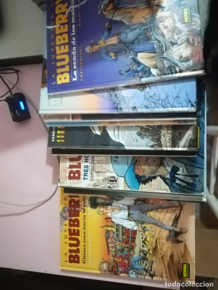 Cómics: EL TENIENTE BLUEBERRY 41 TOMOS CORRELATIVOS ( FALTA EL 20) CARTONÉ REF. UR EST - Foto 2 - 181401345