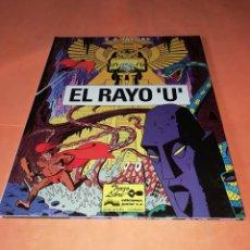 Cómics: EL RAYO U. TRAZO LIBRE. EDICIONES JUNIOR . GRUPO GRIJALBO. 1991. BUEN ESTADO.. Lote 181458460