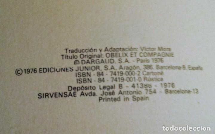 Cómics: 3 AVENTURAS UN VOLUMEN (unico)ASTERIX DARGAUD AÑO 1.976 - Foto 2 - 181515043