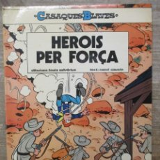 Cómics: CASAQUES BLAVES - HEROIS PER FORCA - Nº 1 - RUSTICA - CATALAN. Lote 181768042