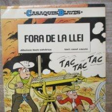 Cómics: CASAQUES BLAVES - FORA DE LA LLEI - Nº 2 - RUSTICA - CATALAN. Lote 181768195