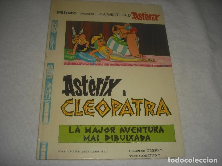 ASTRIX I CLEOPATRA . 1976, EN CATALA. (Tebeos y Comics - Grijalbo - Asterix)