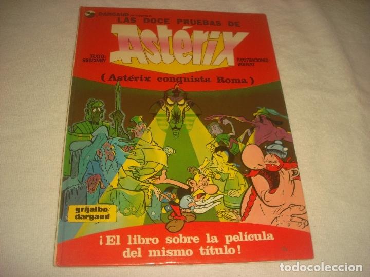 LAS DOCE PRUEBAS DE ASTERIX . 1983. (Tebeos y Comics - Grijalbo - Asterix)