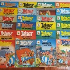 Fumetti: ASTERIX. PRECIOSA COLECCIÓN DE 24 LIBROS PASTA DURA. GRIJALBO/DARGAUD S.A.. Lote 182018731