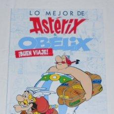 Cómics: LO MEJOR DE ASTÉRIX & OBELIX - BUEN VIAJE - SALVAT - NUEVO. Lote 195583308