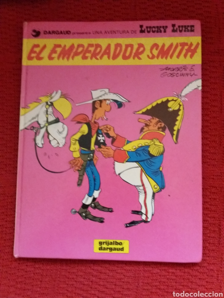 EL EMPERADOR SMITH UNA AVENTURA DE LUCKY LUKE (Tebeos y Comics - Grijalbo - Lucky Luke)