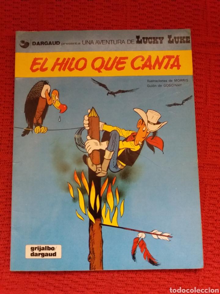 EL HILO QUE CANTA UNA AVENTURA DE LUCKY LUKE (Tebeos y Comics - Grijalbo - Lucky Luke)