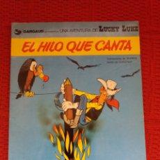 Cómics: EL HILO QUE CANTA UNA AVENTURA DE LUCKY LUKE. Lote 182260995