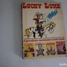 Cómics: LUCKY LUKE TIENE EL LOMO ROTO. Lote 182343411