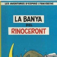 Cómics: LES AVENTURES D´ESPIRÚ I FANTÀSTIC 4: LA BANYA DEL RINOCERONT, 1988, JUNIOR, MUY BUEN ESTADO. Lote 182453077