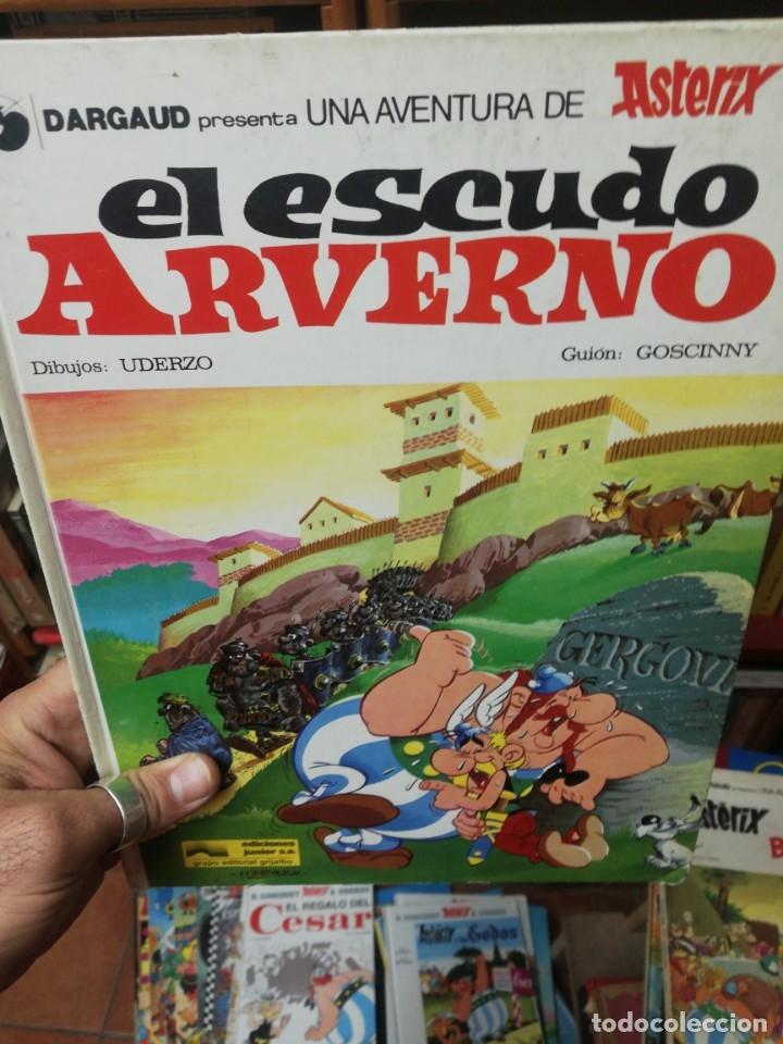 ASTERIX EL ESCUDO ARVERNO (Tebeos y Comics - Grijalbo - Asterix)