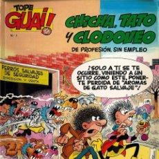 Cómics: 3 TEBEOS TOPE GUAI! Nº 1, Nº 15 Y Nº 66 AÑO 1986. Lote 182568678