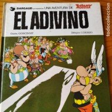 Cómics: ASTERIX, EL ADIVINO - EDICIONES GRIJALBO 1981 - TAPA DURA. Lote 182608833