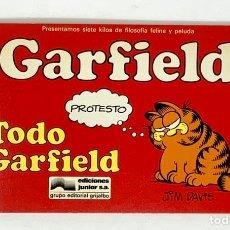 Cómics: CÓMIC GARFIELD -TODO GARFIELD- Nº1 EDICIONES JUNIOR S.A GRUPO EDITORIAL GRIJALBO. Lote 182626372