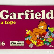 Cómics: CÓMIC GARFIELD -A TOPE- Nº16 EDICIONES JUNIOR S.A GRUPO EDITORIAL GRIJALBO. Lote 182626942