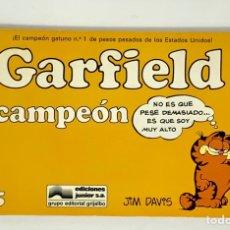 Cómics: CÓMIC GARFIELD -CAMPEÓN- Nº5 EDICIONES JUNIOR S.A GRUPO EDITORIAL GRIJALBO. Lote 182627493
