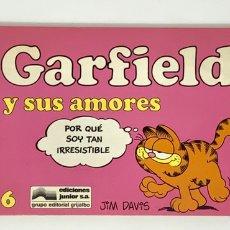 Cómics: CÓMIC GARFIELD -Y SUS AMORES- Nº6 EDICIONES JUNIOR S.A GRUPO EDITORIAL GRIJALBO. Lote 182628508
