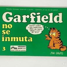 Cómics: CÓMIC GARFIELD -NO SE INMUTA- Nº3 EDICIONES JUNIOR S.A GRUPO EDITORIAL GRIJALBO. Lote 182629021