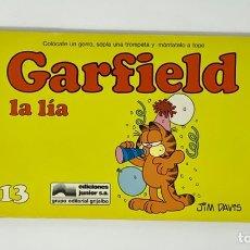 Cómics: CÓMIC GARFIELD -LA LÍA - Nº13 EDICIONES JUNIOR S.A GRUPO EDITORIAL GRIJALBO. Lote 182629313