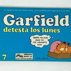 Cómics: CÓMIC GARFIELD -DETESTA LOS LUNES- Nº7 EDICIONES JUNIOR S.A GRUPO EDITORIAL GRIJALBO. Lote 182629582
