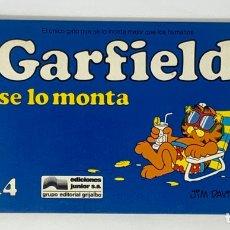 Cómics: CÓMIC GARFIELD -SE LO MONTA- Nº14 EDICIONES JUNIOR S.A GRUPO EDITORIAL GRIJALBO. Lote 182630201